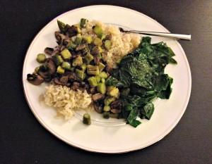 veg over rice