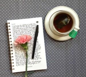 GMJJ tea writing 2